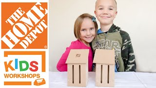 Home Depot Kids Workshop Build Butterfly House 422016