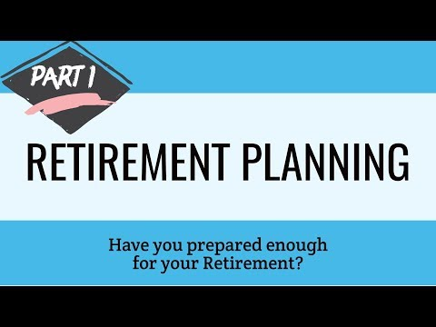 Retirement Planning -How to plan for your Retirement 👍 🔔