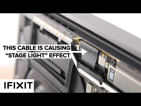 """The Design Flaw Behind MacBook Pro's """"Stage light"""" Effect! #Flexgate"""