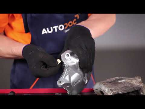 How to replace a front brake caliper on FORD MONDEO 3 TUTORIAL | AUTODOC
