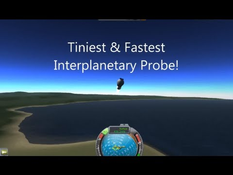 Kerbal Space Program 0.18.1 - The Fastest Probe In The Galaxy