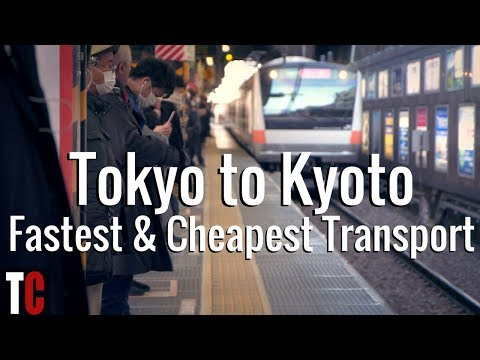 Tokyo to Kyoto: Cheapest and Fastest Transport Options