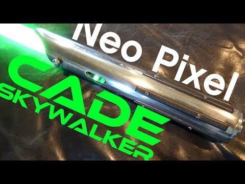 The Cade Skywalker Lightsaber with Plecter Labs Prizm V5 and Neopixel Strip Blade