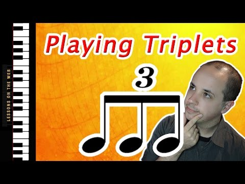 How to Play Eighth Note Triplets on the Piano: Easy Rhythm Lesson 10
