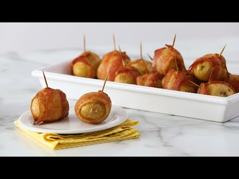 Bacon-Wrapped Potatoes- Martha Stewart