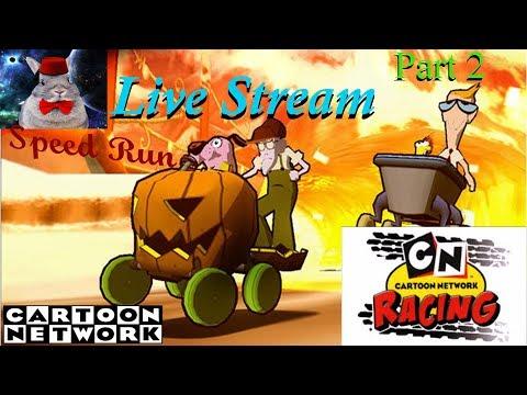 Cartoon Network Racing Speed Run Live Stream part 2 The Eliminator Race
