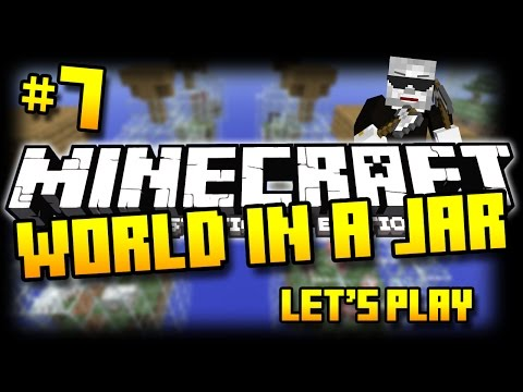 Minecraft PS3 - World In A Jar Survival - Part 7 - LAVA CONTROL! ( PS3 )