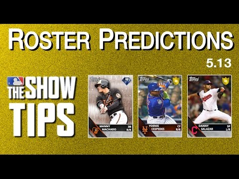 MLB The Show 16 - Roster Predictions (5.13)