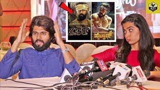 Vijay Devarakonda Talks About Yash KGF Movie & Kiccha Sudeep Pailwaan Movie