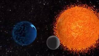 3ds Max Earth Moon And Sun Animation