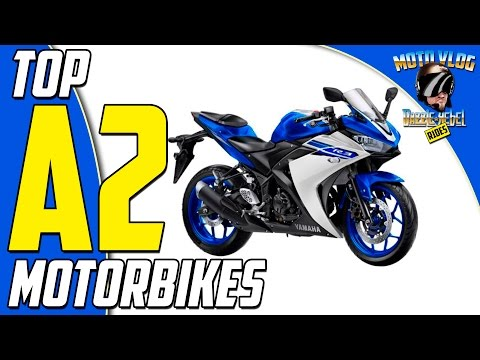 Top Motorbikes for New Riders / A2 Licence Holders 2017