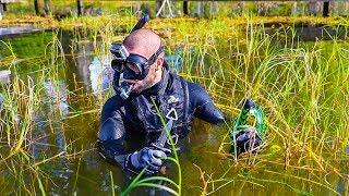"""Treasure Hunting in SNAKE infested Lake!! (Secret Treasure) """"Jiggin with Jordan"""""""