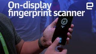 Vivo on-display fingerprint sensor hands-on at CES 2018