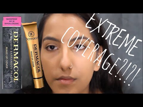 CHEAP EXTREME COVERAGE Dermacol Foundation First Impression | Brown/Medium/Tan Skin