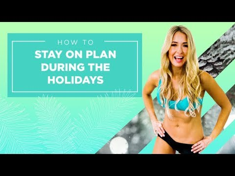 How To Stay on Plan During the Holidays