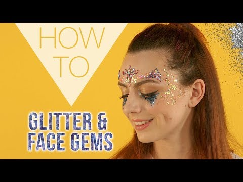 HOW TO | Glitter & Face Gems | Festival Makeup | Superdrug