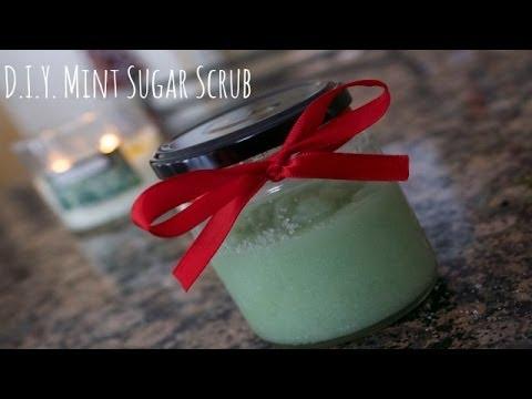 DIY Mint Sugar Scrub | Collab with MainlyMariam!