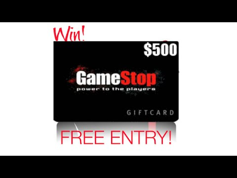 Gamestop Gift Card  - Enter Survey to Win $500 Gamestop Gift Cards or Visa Gift Card