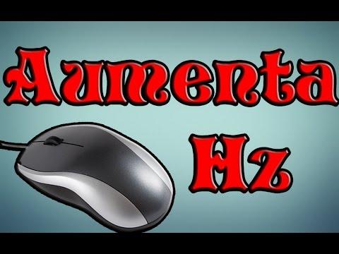 TUTORIAL Aumentar HZ del Mouse CORRECTAMENTE windows 7