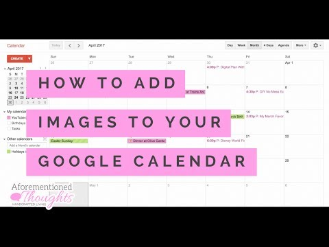 How to Add Images to Your Google Calendar - Digital Planning - Paperless Living