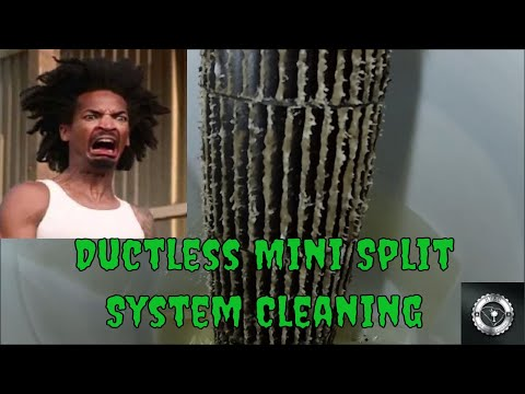 Ductless Mini Split System Cleaning