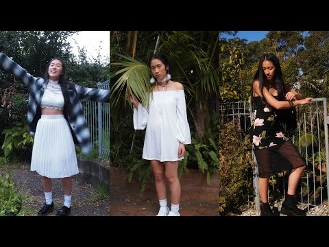 50s + 70s + 90s Inspired Outfits