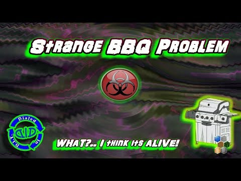 Something alive in the BBQ - What's in the BBQ