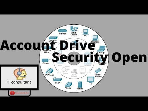 window account security on drive
