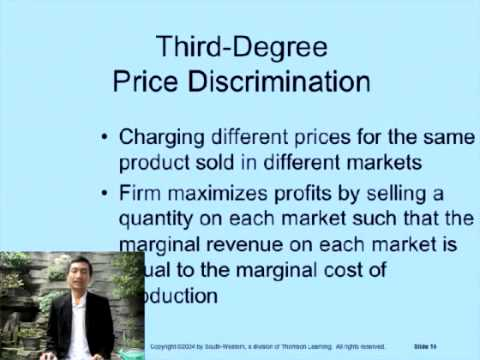 Dominick Salvatore Chapter 11    Pricing Practices