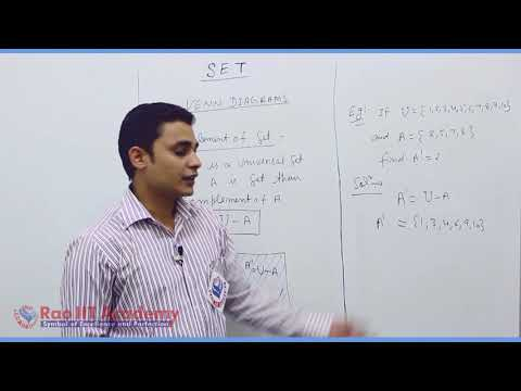 Set Relation Function Maths Part-4 std 11th HSC Board Video Lecture BY Rao IIT