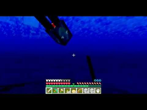 Minecraft Quick and Easy: Cheap and portable underwater airspaces
