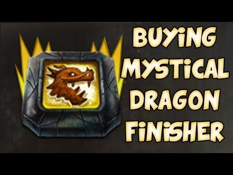 BUYING MYSTICAL DRAGON FINISHER! | Guild Wars 2 Gemstore Shopping #048