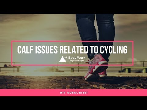 Calf issues related to cycling - Jason Bradley Newcastle Physio