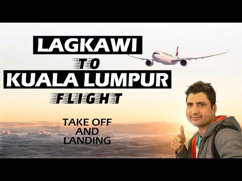 AirAsia Flight | Langkawi to Kuala Lumpur | Take Off & Landing