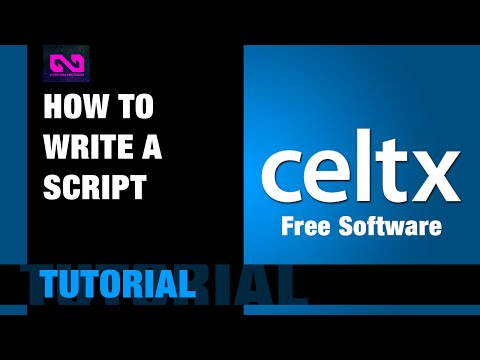 How to write a film script (free software)