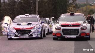 Rally du Var 2017 - Start Shakedown - Launch Controls & Pure Sounds