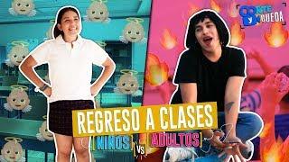 Regreso a CLASES   Niño vs Adulto