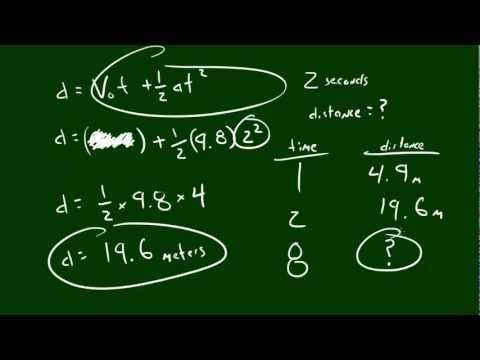 Physics Lecture - 4 - Calculating Distance Traveled
