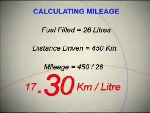 How to calculate Mileage of your Maruti Car