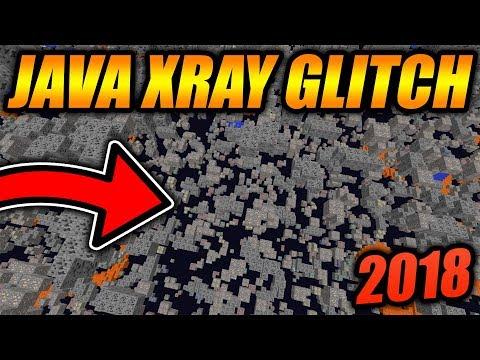 BEST WORKING XRAY GLITCH FOR MINECRAFT JAVA EDITION! - Minecraft JAVA Edition XRAY GLITCH 2018