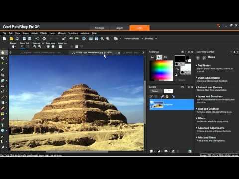 Using Photo Effects in Corel PaintShop Pro X6