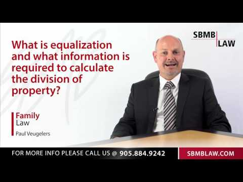 Equalization Of Family Property And Division Of Property