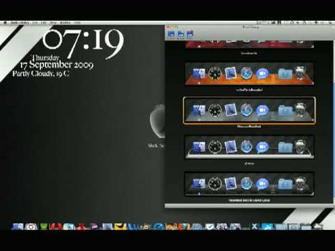 How To:  Change Your Dock in Mac OS X Using Dock Library
