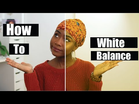 HOW TO WHITE BALANCE Girl Tech #6 | JASMINE ROSE