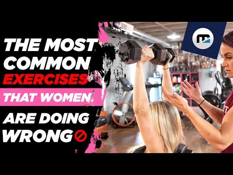 🚫 The 6 Most Common Exercises that WOMEN are doing wrong! (How To Fix Them)