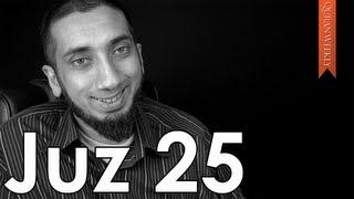 Major Sins & Shamelessness [Juz 25] - Nouman Ali Khan - Quran Weekly