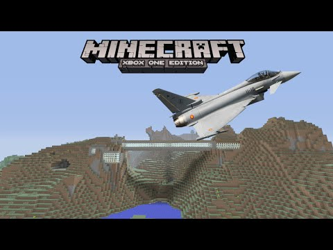 Minecraft Xbox One - PoisonSurvival - 13 - HOW TO FLY A PLANE THE RIGHT WAY.