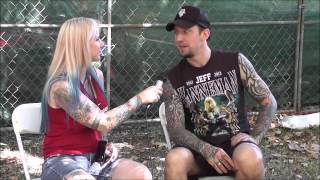 Michael Poulsen of Volbeat 2013 Interview for Tat2 Magazine with Ms. Angi