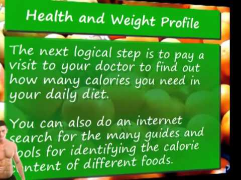 Video 3 Create a Health and Weight Loss Profile