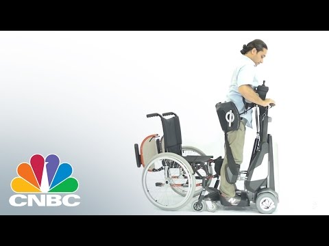 Tek RMD Gives New Mobility To Wheelchair Users | CNBC